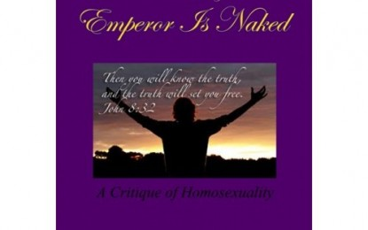Author Jim Hill Tackles Tough Questions on Homosexuality in His New Book 'The Gay Emperor is Naked'