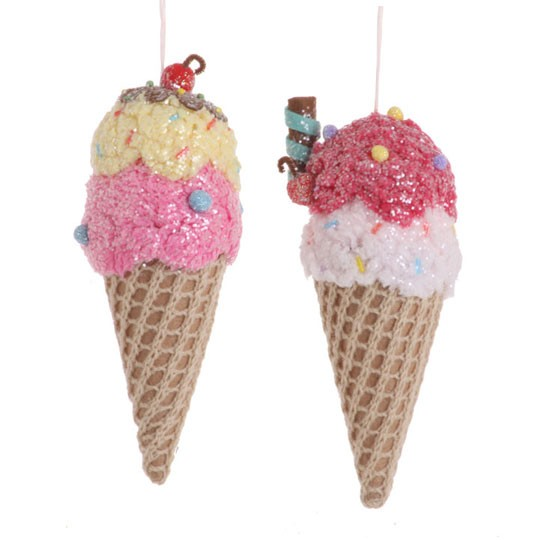 The Good News Today Ice Cream Cone Ornaments Ministry Tip