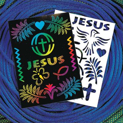 Scratch Paper Bible Scenes MINISTRY TIP