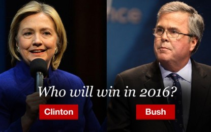 Jeb and Hillary: The Worst of Evils