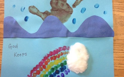 Finger Painting Fun! MINISTRY TIP
