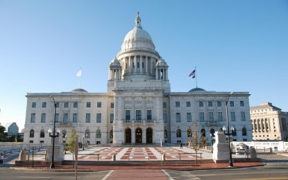 HISTORIC GATHERING TAKES PLACE AT THE RHODE ISLAND STATE HOUSE