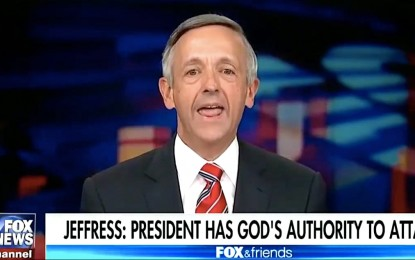 Pastor Robert Jeffress And The Prophets Of Ahab