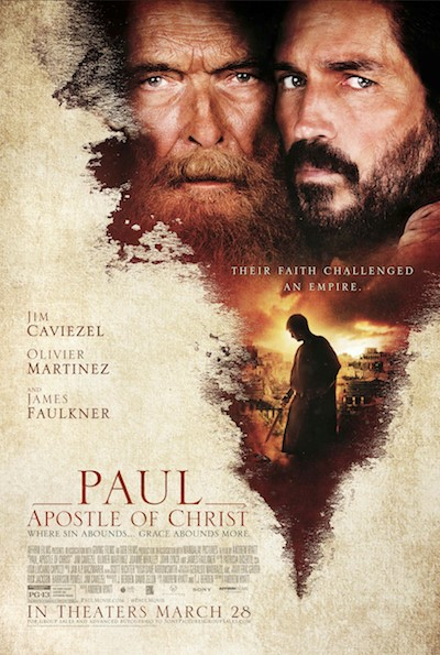 Liberty University Simulcast Features Jim Caviezel, Star Of Anticipated Film 'Paul, Apostle Of Christ' to Be Simulcast to Churches Nationwide