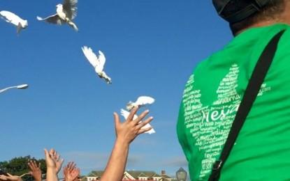 Peace For My City…I love a parade