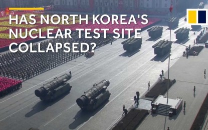 North Korea's Nuclear Test Site Collapses After Massive 100 Kilo Bomb In September Vaporized Mountain Core