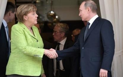Putin-Merkel Summit: Ukraine, Nord Stream 2, Syria, Iran, Sanctions and More