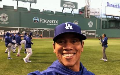 Dodger coach talks World Series, faith, steroid era