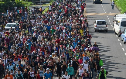Proof Americans are funding gang, Middle Eastern-laced caravan