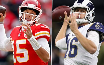 Numerous stars shine in L.A. as Rams top Chiefs in instant-classic Monday Night Football game