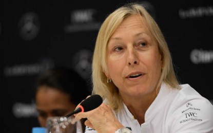 Martina Navratilova: 'Having a Penis' and Calling Yourself a Woman Doesn't Mean You Can Compete Against Women