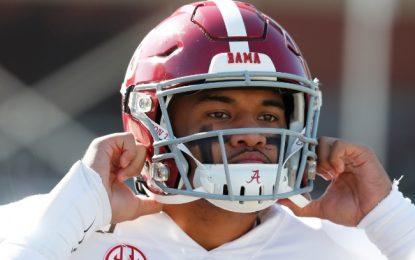 Alabama QB Tua Tagovailoa undergoes hip surgery, says 'God always has a plan'