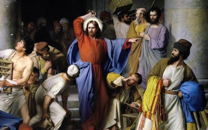 If Jesus threw the moneychangers out of the temple, why can't worshipers throw out the CDC?