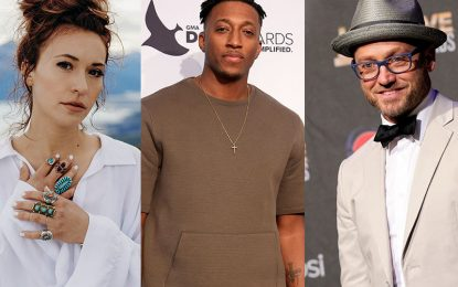 Lauren Daigle, Lecrae, TobyMac Join In Raising Funds for Churches At-Risk of Closing