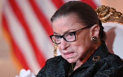 The Notorious RBG – Ruth Bader Ginsberg