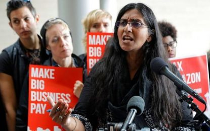 Seattle Councilwoman Kshama Sawant: We 'Will Not Stop Until We Overthrow' Capitalism, 'Replace It With' Socialism